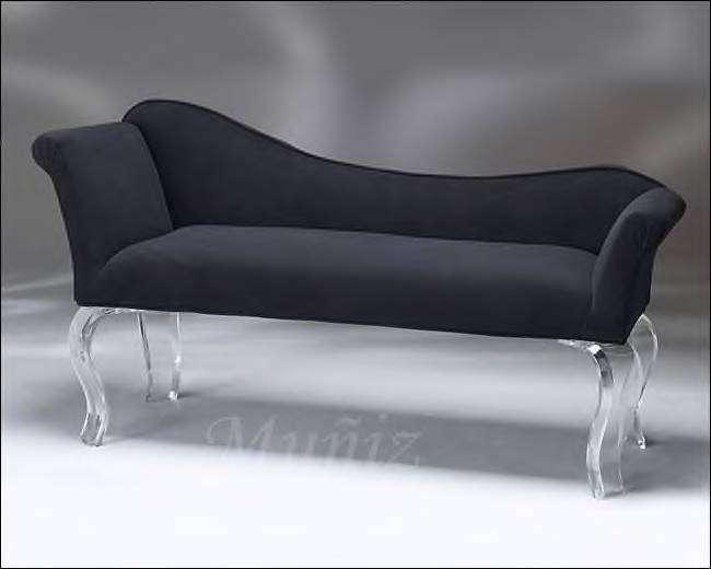 Acrylic Furniture Cleopatra Bench From Muniz Studio
