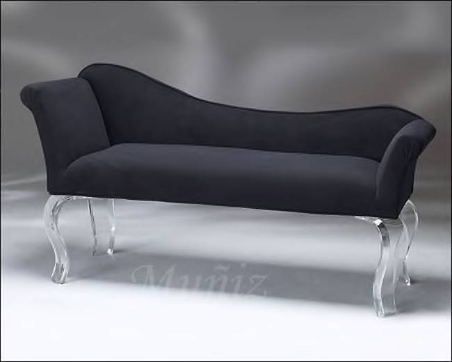 Acrylic Furniture Quot Cleopatra Quot Bench From Muniz Studio